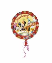Kinderfeestje mickey mouse folie ballonnen trend