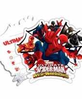 Kinderfeestje spiderman warriors uitnodigingen trend 10145181