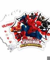 Kinderfeestje spiderman warriors uitnodigingen trend