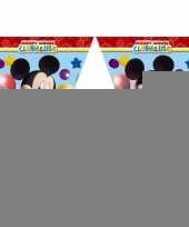 Kinderfeestje vlaggetjes mickey mouse 2 3 meter trend