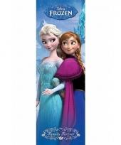 Kinderkamer deurposter frozen 30 x 91 cm trend