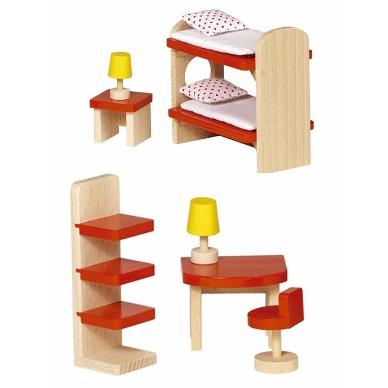 Kinderkamer meubeltjes voor een poppenhuis trend