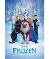 Kinderkamer poster frozen trend 10063143