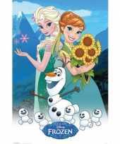 Kinderkamer poster frozen trend 10065085