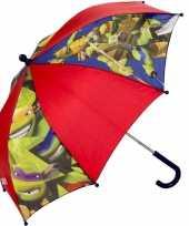Kinderparaplu ninja turtles rood 45 cm trend
