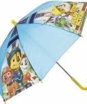 Kinderparaplu paw patrol blauw 45 cm trend