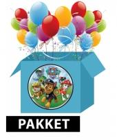 Kinderverjaardaardag paw patrol voordeelpakket trend