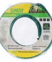 Kinzo tuinslang groen zwart 10 meter trend