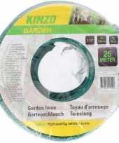 Kinzo tuinslang groen zwart 25 meter trend