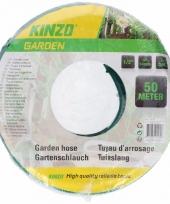 Kinzo tuinslang groen zwart 50 meter trend