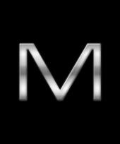 Kleine alfabet stickers letter m trend