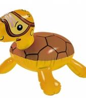 Kleine opblaas schildpad 30 cm trend