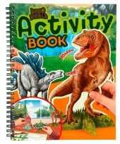 Kleurboek dinosaurussen trend