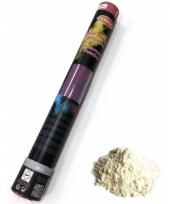 Kleurenpoeder shooter wit 40 cm trend