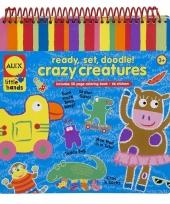 Kleurplaten boek met stickers trend