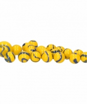 Knikkers in netje 20x yellow and blue dory trend