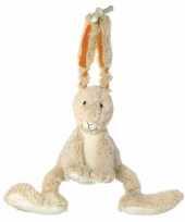 Knuffel konijn muziekdoos 26 cm trend