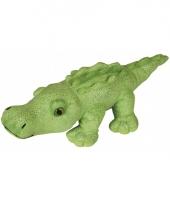 Knuffel krokodil met glitters 30 cm trend