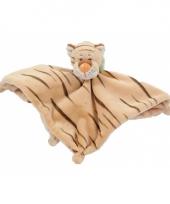 Knuffeldoek tijger 25 cm trend