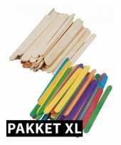 Knutsel pakketten met houtjes xl trend