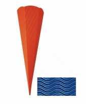 Knutsel schoolzak donkerblauw 68 cm trend