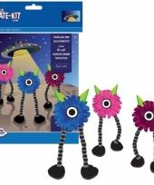 Knutsel set monster create kit trend
