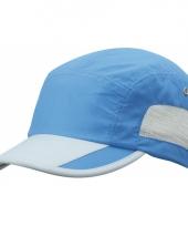 Kobalt blauwe sportieve pet van licht materiaal trend