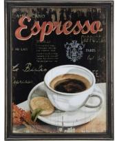 Koffie vintage schilderij van hout trend 10062183