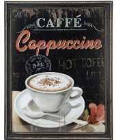 Koffie vintage schilderij van hout trend 10062184