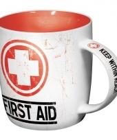 Koffiebeker eerste hulp 33 cl trend