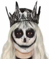 Koning koninginnen verkleed kroon zilver trend