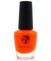 Koningsdag oranje fluor nagellak w7 15 ml trend