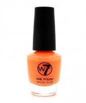 Koningsdag oranje nagellak mat w7 15 ml trend