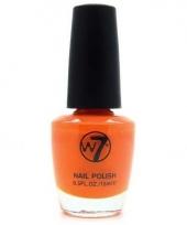 Koningsdag oranje nagellak w7 15 ml trend