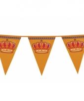 Koningsdag versiering vlaggenlijn trend