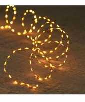 Koper kerstverlichting met timer 132 led lampjes 2 meter trend