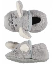 Kraamkadootjes babysloffen konijn trend