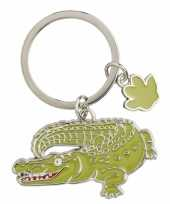 Krokodil sleutelhangers 5 cm trend