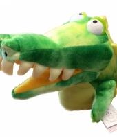 Krokodillen handpop 20 cm trend