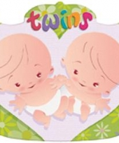Kroonschild geboorte tweeling trend