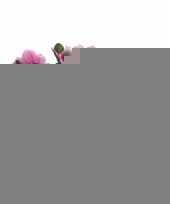 Kunst azaleaplant roze 20 cm trend