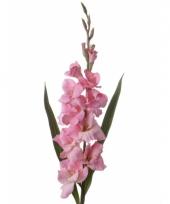 Kunst gladiolen roze 102 cm trend