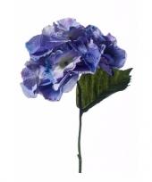 Kunst hortensia steelboemen blauw trend