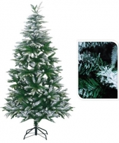 Kunst kerstbomen met sneeuw 180 cm trend