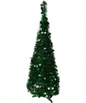 Kunst kerstboom 120 cm lametta grote pailletten trend