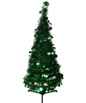 Kunst kerstboom 90 cm lametta grote pailletten trend