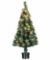 Kunst kerstboom met fiber licht 60 cm trend