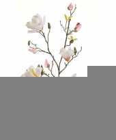 Kunst magnolia tak 105 cm creme trend