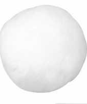 Kunst sneeuwbal 7 5 cm 1x trend
