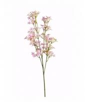 Kunstbloem kroonkruid roze trend